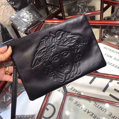 Cheap Versace AAA Quality Wallets For Men #430024 Replica Wholesale [$59.00 USD] [W-430024] on Replica Versace AAA Man Wallets