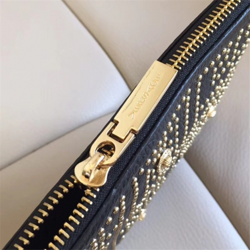 Cheap Versace AAA Quality Wallets For Men #430025 Replica Wholesale [$61.00 USD] [W-430025] on Replica Versace AAA Man Wallets