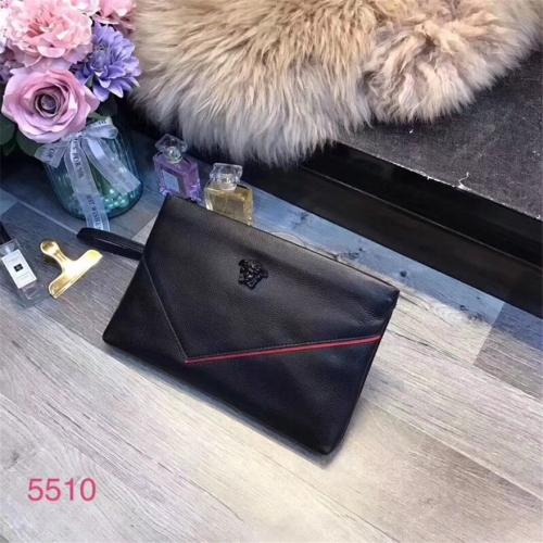 Cheap Versace AAA Quality Wallets For Men #430099 Replica Wholesale [$67.00 USD] [W-430099] on Replica Versace AAA Man Wallets