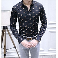 Christan Dior Shirts Long Sleeved For Men #428616