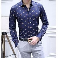 Christan Dior Shirts Long Sleeved For Men #428618