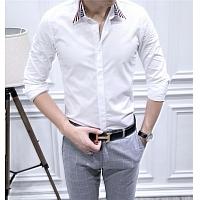 Armani Shirts Long Sleeved For Men #428648