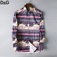 Dolce & Gabbana D&G Shirts Long Sleeved For Men #428753