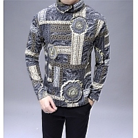 Versace Thermal T-Shirts Long Sleeved For Men #428762