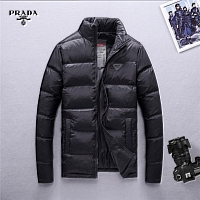 Prada Feather Coats Long Sleeved For Men #428795
