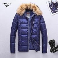 Prada Feather Coats Long Sleeved For Men #428802