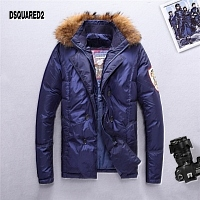 Dsquared Feather Coats Long Sleeved For Men #428864