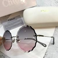 Chloe AAA Quality Sunglasses #429767