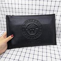 Cheap Versace AAA Quality Wallets For Men #430104 Replica Wholesale [$67.00 USD] [W-430104] on Replica Versace AAA Man Wallets