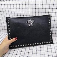 Cheap Versace AAA Quality Wallets For Men #430105 Replica Wholesale [$67.00 USD] [W-430105] on Replica Versace AAA Man Wallets