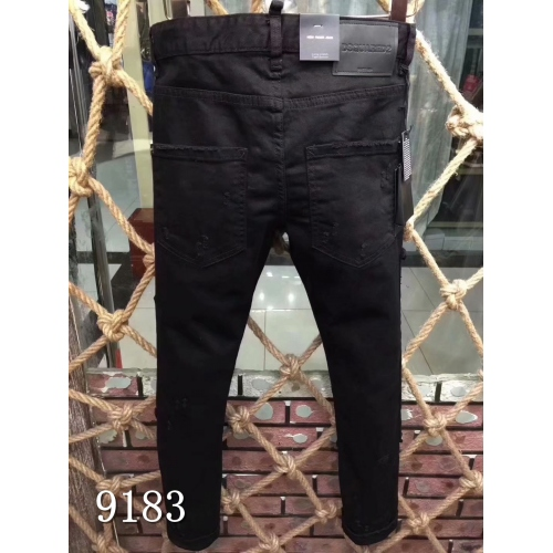 Cheap Dsquared Jeans For Men #433848 Replica Wholesale [$64.00 USD] [W-433848] on Replica Dsquared Jeans