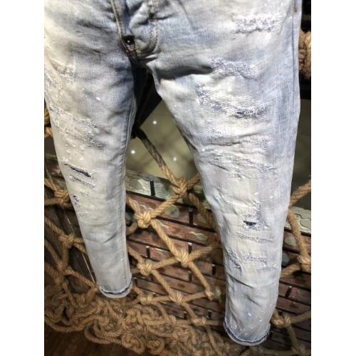 Cheap Dsquared Jeans For Men #433866 Replica Wholesale [$64.00 USD] [W-433866] on Replica Dsquared Jeans