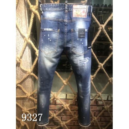 Cheap Dsquared Jeans For Men #433870 Replica Wholesale [$64.00 USD] [W-433870] on Replica Dsquared Jeans