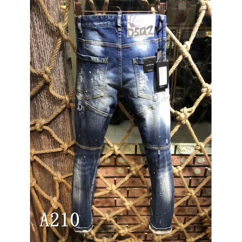 Cheap Dsquared Jeans For Men #433874 Replica Wholesale [$64.00 USD] [W-433874] on Replica Dsquared Jeans