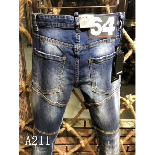 Cheap Dsquared Jeans For Men #433875 Replica Wholesale [$64.00 USD] [W-433875] on Replica Dsquared Jeans