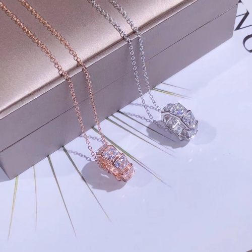 Cheap Bvlgari AAA Quality Necklaces #435244 Replica Wholesale [$60.00 USD] [W-435244] on Replica Bvlgari Necklaces