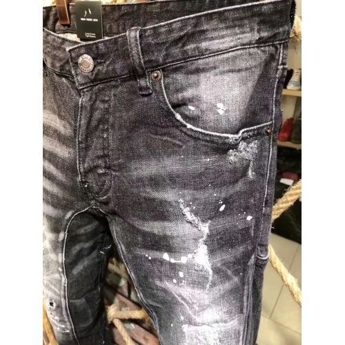 Cheap Dsquared Jeans For Men #441367 Replica Wholesale [$64.00 USD] [W-441367] on Replica Dsquared Jeans
