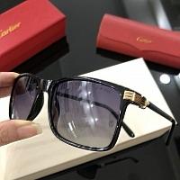 Cartier AAA Quality Sunglasses #430489