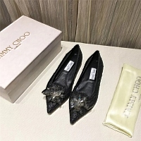 Jimmy Choo Flat Shoes For Women #436605