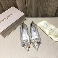 Jimmy Choo Flat Shoes For Women #436606