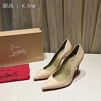 Christian Louboutin CL High-heeled Shoes For Women #436653