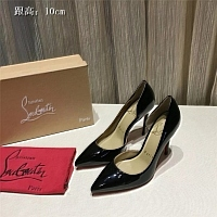Christian Louboutin CL High-heeled Shoes For Women #436668