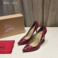 Christian Louboutin CL High-heeled Shoes For Women #436721