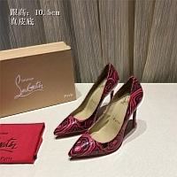 Christian Louboutin CL High-heeled Shoes For Women #436734