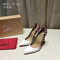 Christian Louboutin CL High-heeled Shoes For Women #436747