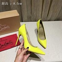 Christian Louboutin CL High-heeled Shoes For Women #436763