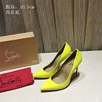 Christian Louboutin CL High-heeled Shoes For Women #436796
