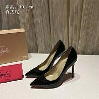 Christian Louboutin CL High-heeled Shoes For Women #436798