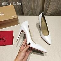 Christian Louboutin CL High-heeled Shoes For Women #436799