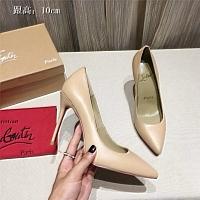 Christian Louboutin CL High-heeled Shoes For Women #436805