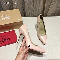 Christian Louboutin CL High-heeled Shoes For Women #436807