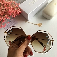 Chloe AAA Quality Sunglasses #437620