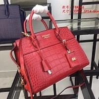 Prada AAA Quality Handbags #440444