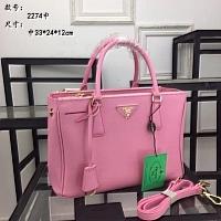 Prada AAA Quality Handbags #440575