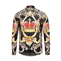 Dolce & Gabbana Shirts Long Sleeved For Men #441225