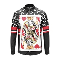 Dolce & Gabbana Shirts Long Sleeved For Men #441228