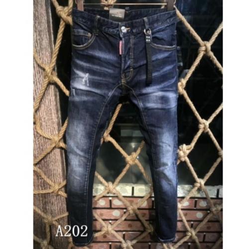 Cheap Dsquared Jeans For Men #447135 Replica Wholesale [$60.00 USD] [W-447135] on Replica Dsquared Jeans