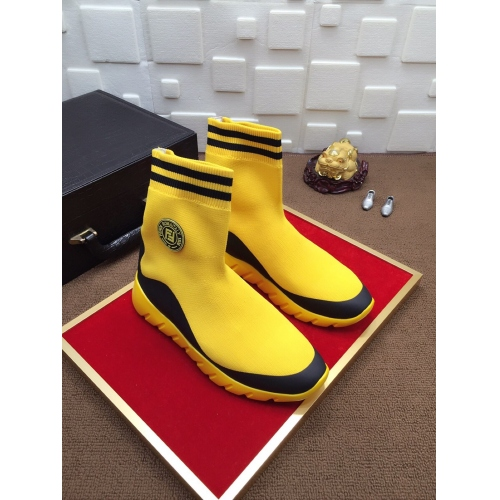 Cheap Versace Fashion Boots For Men #447488 Replica Wholesale [$78.00 USD] [W-447488] on Replica Versace Boots