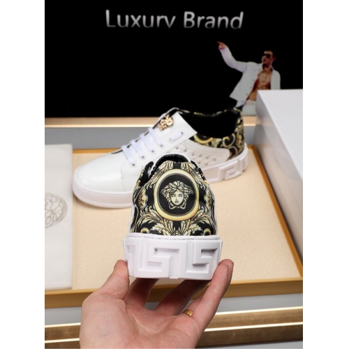 Cheap Versace Casual Shoes For Men #447659 Replica Wholesale [$82.00 USD] [W-447659] on Replica Versace Fashion Shoes