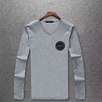 Armani T-Shirts Long Sleeved For Men #442153