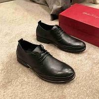 Ferragamo Salvatore Leather Shoes For Men #442915