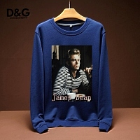 Dolce & Gabbana D&G Hoodies Long Sleeved For Men #443204