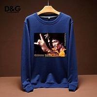 Dolce & Gabbana D&G Hoodies Long Sleeved For Men #443206