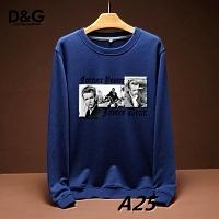 Dolce & Gabbana D&G Hoodies Long Sleeved For Men #443207