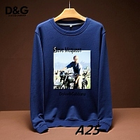 Dolce & Gabbana D&G Hoodies Long Sleeved For Men #443209