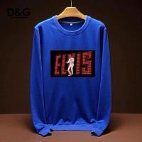 Dolce & Gabbana D&G Hoodies Long Sleeved For Men #443236